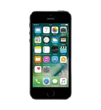 iPhone 5s 16GB Space gray / Серый космос